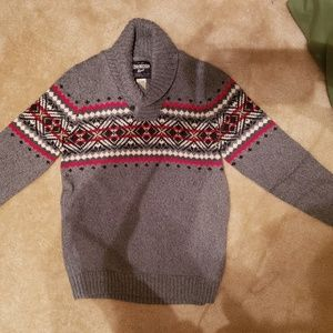 Oshkosh boys new with tags Christmas sweater sz 12